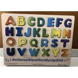 Melissa and Doug Alphabet Sound Puzzle - 26 Pieces ABC's