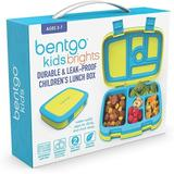 MingshanAncient Brights – Leak-Proof, 5-Compartment Bento-Style Lunch Box – Ideal Portion Sizes For Ages 3 To 7 – BPA-Free, Dishwasher Safe in Yellow