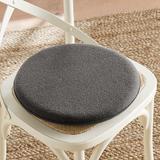 Felt Round Seat Cushion Gray - Ballard Designs