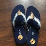 Adidas Shoes   Nautica Wolfie Flip Flops   Color: Blue/White   Size: 7