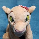 Disney Toys | Lion King Caracter Stuffed Toy | Color: Cream/Tan | Size: About 12 Inches Long From Head To Tail 12 Tall