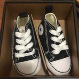 Converse Shoes   Baby Converse Crib Shoes - Blackwhite   Color: Black   Size: 2bb