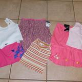 Ralph Lauren Matching Sets | 6 Skirts Top Ralph Lauren Rykiel Lucky Brand 5 6 | Color: Pink/White | Size: 6g