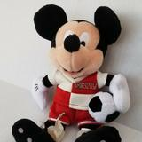 Disney Toys | Disney Mickey Plush Toy With Soccer Ball | Color: Red | Size: Osbb