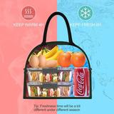 Latitude Run® Lunch Bags For Women Lunch Box For Women Cooler Bag Large Lunch Bag Lunch Bags For Men Lunch Bags For Girls Lunch Tote Bags Insulated Lunch Bag Cooler