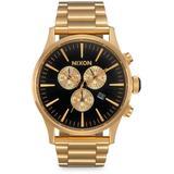 Sentry Chrono Watch - Metallic - Nixon Watches