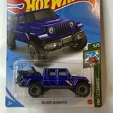 Hot Wheels Toy Car - 157/250 - '20 Jeep Gladiator -Baja Blazers 4/10 diecast car