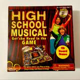 Disney Toys   Disney Channel High School Musical Cd Board Game   Color: Red   Size: Boardgame
