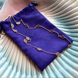Tory Burch Jewelry | Nwot Tory Burch Rose Gold Logo Toggle Necklace | Color: Gold/Red/Tan | Size: Os