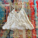 American Eagle Outfitters Tops   American Eagle Outfitters Lace Babydoll Top   Color: Cream/White   Size: S