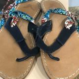 American Eagle Outfitters Shoes   American Eagle Lace Up Sandals   Color: Blue   Size: 7.5