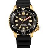 Professional Diver Black Strap Watch 42mm - Black - Citizen Watches