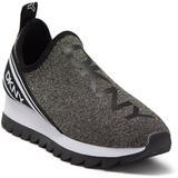 Abbi Knit Running Shoe - Black - DKNY Sneakers