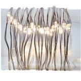 Kurt S. Adler 46873 - 50 Light 16.4' Silver Wire Warm White Battery-Operated Fairy Lights