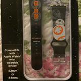 Disney Accessories   Iphone Star Wars Disney Bb8 Watch Strap For 4244   Color: Black   Size: Fitz 4244 I Watch