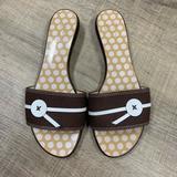 Kate Spade Shoes | Kate Spade Slides Sandals | Color: Brown | Size: 8