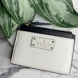 Kate Spade Bags   Kate Spade - Coin Cardholder Wallet   Color: Black/White   Size: Os