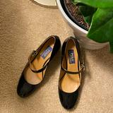 Polo By Ralph Lauren Shoes | Mary Jane Shoes In Patent Leather | Color: Black | Size: 7