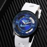 Nike Accessories | Nike Watch -Blue Hollow Sports Analog Wristwatch | Color: Blue/White | Size: Blue & White
