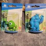 Disney Toys | Disney Pixar Micro Collection Figures Mike & Sully | Color: Blue/Green | Size: 3-4,Inches Tall