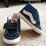 Vans Shoes | Baby Vans Crib Shoes | Color: Blue | Size: 2bb