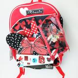 Disney Accessories | Minnie Mouse Boys Backpacks | Color: Black/Red | Size: Osg
