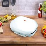 Brentwood Electric Contact Grill 2 Slice Capacity - White   Wayfair 95083217M