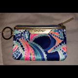 Lilly Pulitzer Accessories | Lilly Pulitzer Id Holder Key Ring | Color: Blue/Pink | Size: Os