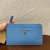 Michael Kors Bags   Nwt Michael Kors Slim Wallet   Color: Blue   Size: Os