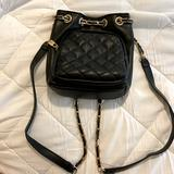 Free People Bags   Free People Chain Strap Backpack Style Handbag   Color: Black   Size: 9 H, 8 L, 4 W
