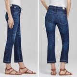 Free People Jeans   Citizens Of Humanity   Fp Drew Crop Flare Jeans   Color: Blue   Size: 26
