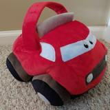 Disney Toys | Disney'S Cars Canton 12 Inch Red Plush Car Basket | Color: Red/White | Size: Osb