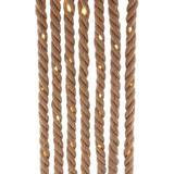 Kurt S. Adler 54213 - 9.8' Brown Warm White Battery-Operated LED Rope Light