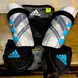 Adidas Other   Adidas Youth Ghost Soccer Shin Guards - Small   Color: Blue/Gray   Size: Small