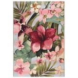 """""""Liora Manne Marina Tropical Floral Indoor/Outdoor Rug Multi 8'10""""""""x11'9"""""""" - Trans Ocean Import Co MNA91806344"""""""