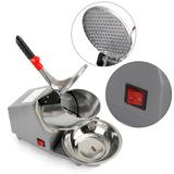 Topteng Snow Cone Machine & Shaved Ice Machine in Gray, Size 8.4 H x 16.4 W x 12.0 D in | Wayfair I036-A001~003WF