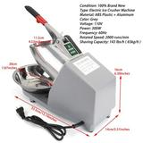 Artudatech Electric Ice Shaver Machine Snow Cone Maker in Gray, Size 8.4 H x 16.4 W x 12.0 D in | Wayfair I036-A001