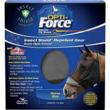 Manna Pro Opti-Force Insect Shield Equine Repellent Gear, Standard, Black / Grey