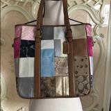 Coach Bags   Coach Vintage Bag.   Color: Cream/Pink   Size: 10 Inches Long And 10 Inches Wide.