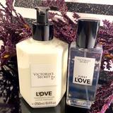 Victoria's Secret Bath & Body | First Love By Victoria Secret (Set) | Color: White | Size: 8.4fl Oz (Lotion) & 2.5fl Oz (Mist)