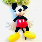 Disney Toys | Mickey Mouse 16 In Plush Toy Stuffed Animal | Color: Black/Red | Size: Osb