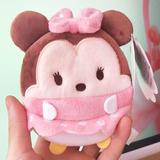 Disney Bags | Minnie Mouse Coin Wallet Womens Girls Cute Plush | Color: Pink | Size: Os