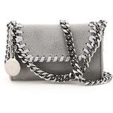 Falabella Micro Crossbody Bag - Gray - Stella McCartney Shoulder Bags