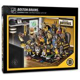 """""""Boston Bruins Purebred Fans 18'' x 24'' A Real Nailbiter 500-Piece Puzzle"""""""