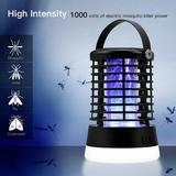 JUMBO Bug Zapper Electric Mosquito Killer Insect Fly Trap Mosquito Attractant Trap Control w/ Camping Lamp For Indoor Outdoor Backyard Patio Camping Cordl