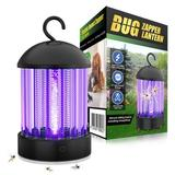JUMBO Electric Bug Zapper, HBUDS Bugs Electric Killer Shock Fly Insect Trap, Indoor Pest Control Night Lamp in Black/Brown/Gray | Wayfair