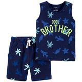 Carters Baby Boys 2-pc. Cool Brother Short Set