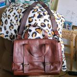 Dooney & Bourke Bags   Dooney & Bourke Large Brown Leather Messenger Bag   Color: Brown   Size: Large