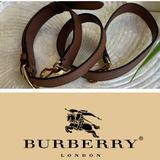 Burberry Bags   Burberrytan Leather Strap Gold Hardware   Color: Tan   Size: Os