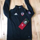 Adidas Jackets & Coats   Adidas Soccer Jacket & Sock Bundle   Color: Black/Red   Size: Youth Large (13-14 Years)